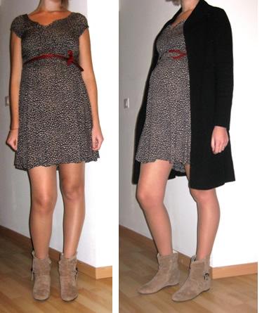 look de grossesse robe été en hiver 1
