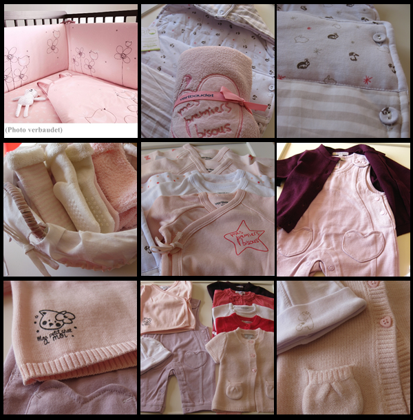 vêtements 1mois
